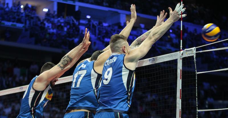 Risultati immagini per L'Italia ha battuto la Polonia ma è stata eliminata dai Mondiali di pallavolo maschile