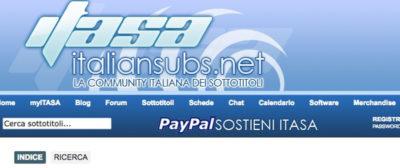 Il sito Italiansubs.net chiude