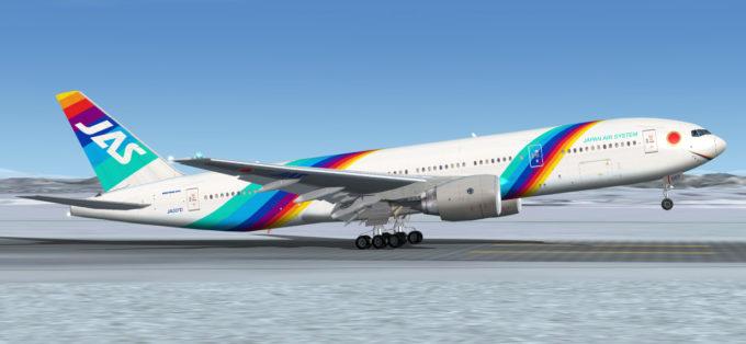 Il JAS 777 è popolare anche tra chi vola con le simulazioni