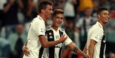 La Juventus ha battuto 3-1 il Napoli