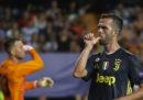 In Champions League la Juventus ha vinto 2-0 contro il Valencia, la Roma ha perso 3-0 contro il Real Madrid