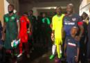 George Weah ha giocato una partita con la nazionale liberiana