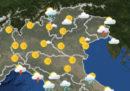 Le previsioni meteo per martedì 4 settembre