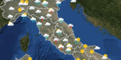 Le previsioni meteo per domenica 2 settembre