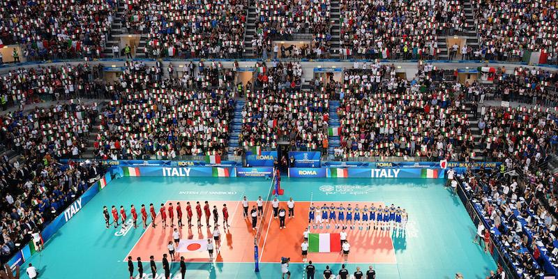 Volley, super Italia, battuta l'Argentina in rimonta