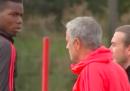 Tra José Mourinho e Paul Pogba non tira una bella aria, a giudicare da questo video