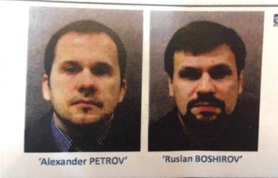 Caso Skripal: due mandati di cattura a 2 cittadini russi