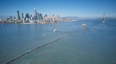Questa barriera ripulirà il Pacifico dalla plastica?