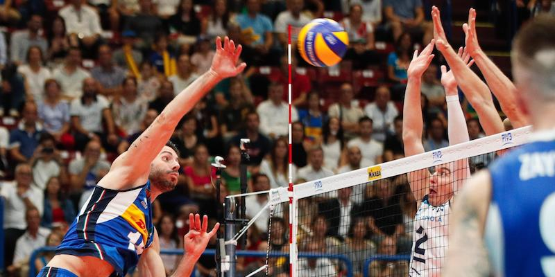 San Francisco 9158b a1774 Italia-Olanda dei Mondiali di pallavolo maschile in TV e in ...