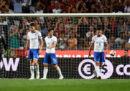 L'Italia è stata battuta 1-0 dal Portogallo nel secondo turno della Nations League