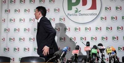 Renzi dice che non si candiderà alle primarie del PD