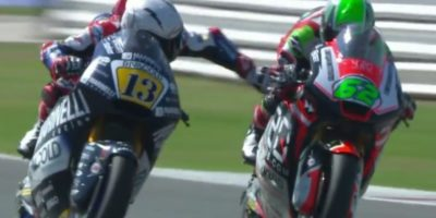 Romano Fenati è stato licenziato dalla sua squadra di Moto2