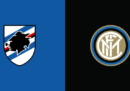 Sampdoria-Inter in streaming e in diretta TV