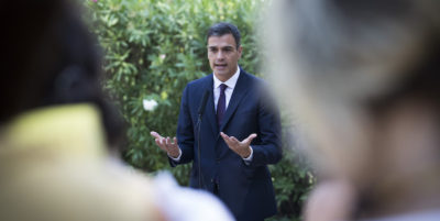 Pedro Sánchez ha un problema: il Venezuela