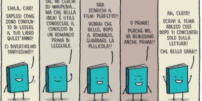 Ridere dei libri
