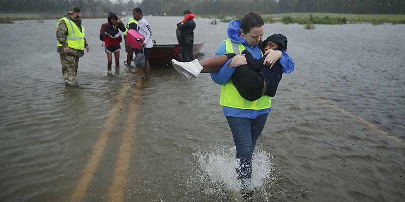 Usa, quattro morti in North Carolina per l'uragano Florence