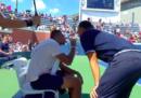 Agli US Open si discute di un arbitro