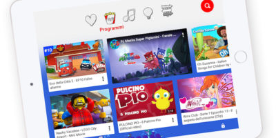 È arrivato YouTube Kids in Italia