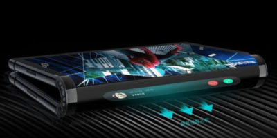 Il primo smartphone al mondo con display flessibile