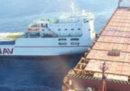 Due navi si sono scontrate domenica a nord della Corsica, c'è del carburante che sta fuoriuscendo in mare