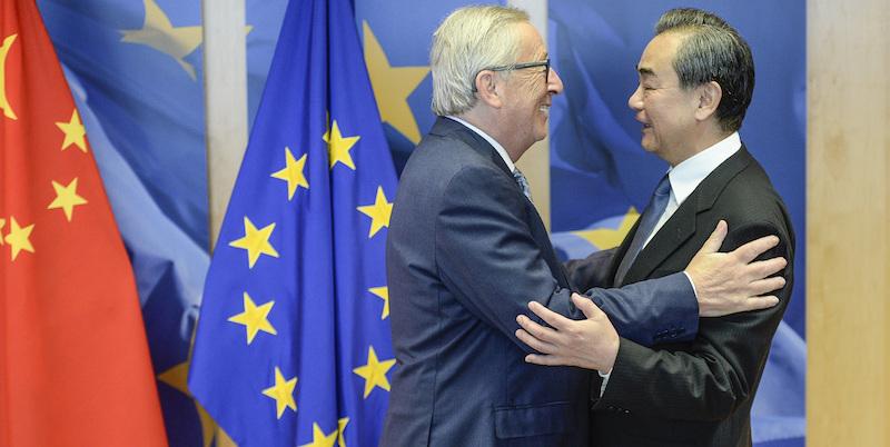 Cina, Unione Europea