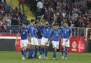 L'Italia di calcio ha battuto 1-0 la Polonia in Nations League