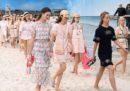 La sfilata di Chanel, in spiaggia