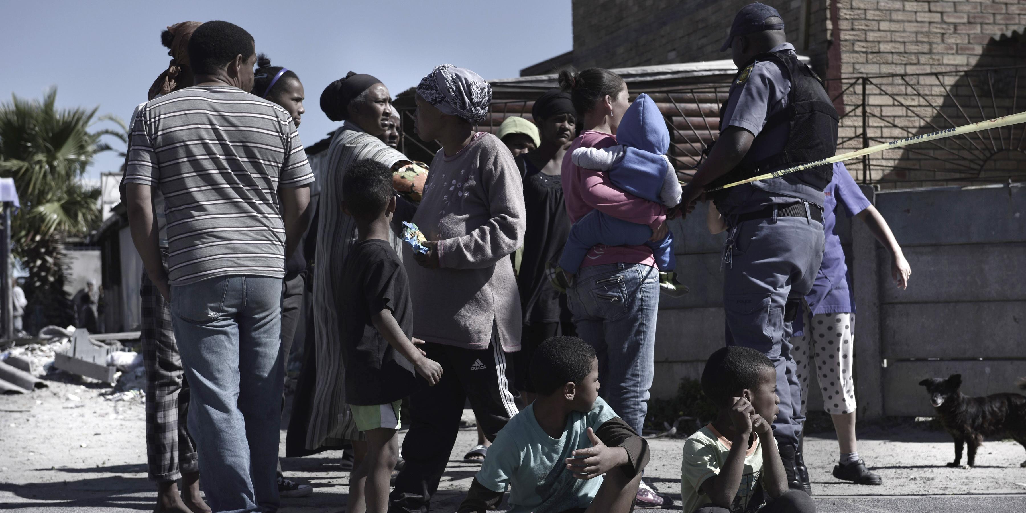 Sud Africa, Città del Capo, gang