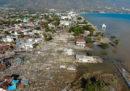 Il numero delle persone morte per il terremoto e lo tsunami in Indonesia è salito 1.234