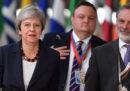 Stasera inizia un importante Consiglio europeo su Brexit
