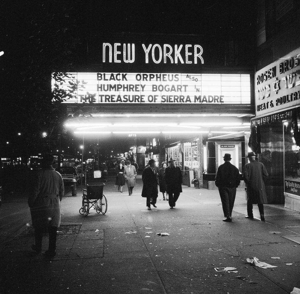 Al cinema New York