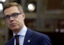L'ex primo ministro finlandese Alexander Stubb vuole fare il candidato presidente della Commissione Europea per il PPE