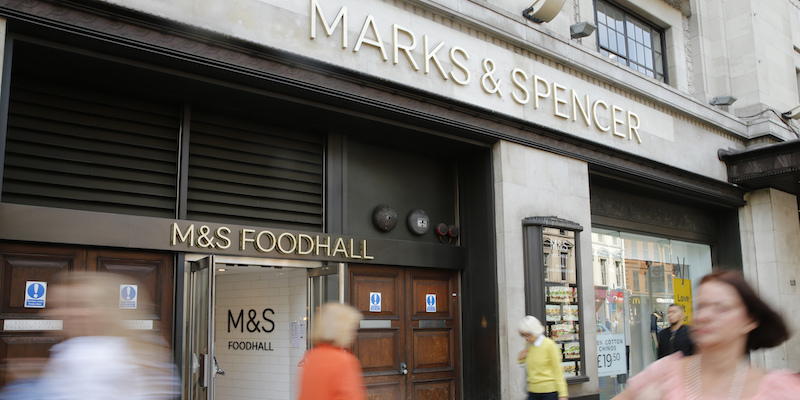 La crisi di marks spencer il post for Grandi magazzini mobili