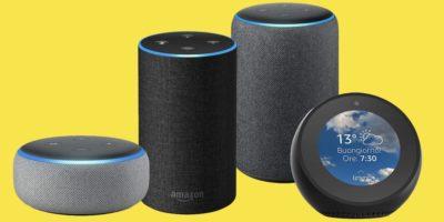 Gli Echo di Amazon sono arrivati in Italia