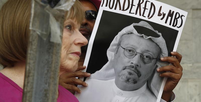 Risultati immagini per l'omicidio di Jamal Khashoggi