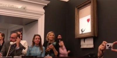 Un po' di risposte alle domande sul quadro di Banksy che ci siamo fatti tutti