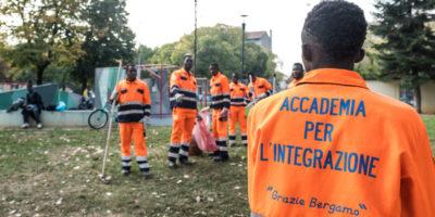 L'esperimento di Bergamo con i migranti