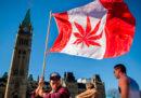 Da oggi la marijuana è legale in Canada
