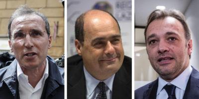 E quindi ci sono tre candidati a capo del PD