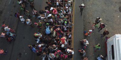 """Il Messico ha offerto permessi di soggiorno temporanei alla """"carovana"""" di migranti diretta negli Stati Uniti"""