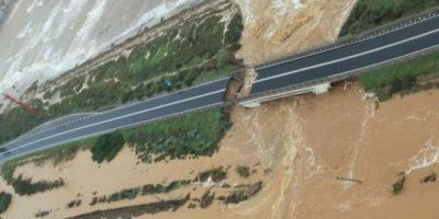 I danni delle forti piogge in Sardegna