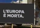 La campagna di +Europa sulla morte dell'Europa