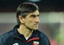 Il Genoa ha esonerato l'allenatore Davide Ballardini: lo rimpiazzerà il croato Ivan Juric