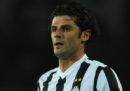 L'ex calciatore Vincenzo Iaquintaè stato condannato in primo grado a due anni di carcere