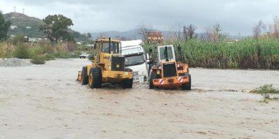 I danni del maltempo in Calabria