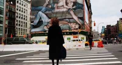 La pubblicità fuori