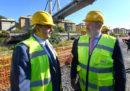 Il sindaco di Genova Marco Bucci è stato scelto dal governo come commissario per la ricostruzione del ponte Morandi