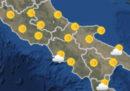 Le previsioni meteo per mercoledì 24 ottobre