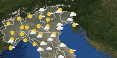 Le previsioni meteo per venerdì 12 ottobre