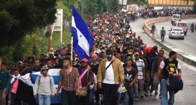 Le foto della carovana di migranti in viaggio verso gli Stati Uniti